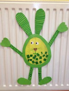 Hues Easter Art, Easter Crafts, Kindergarten Art, Preschool, Diy For Kids, Crafts For Kids, Diy And Crafts, Arts And Crafts, Easter Activities For Kids