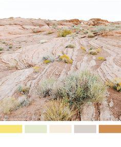 desert color palette | think make share blog