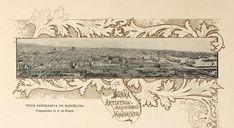 Composició d'A. de Riquer per al prefaci d'Arquitectura Moderna de Barcelona (1897)