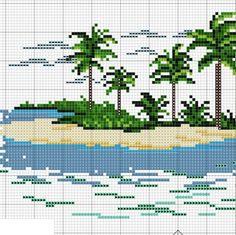 DMC:  Island Cross-stitch