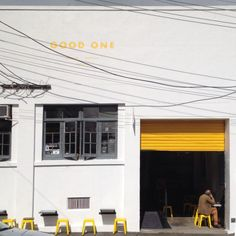 An Auckland favourite, Good One coffee.