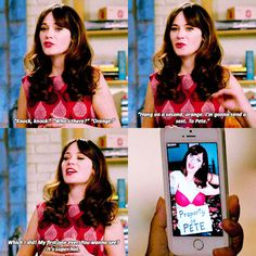 That's just you wearing a bra on the outside of your tshirt #NewGirl