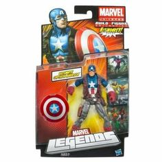 Marvel Legends 2013 Series 1 Action Figure Ultimates Captain America by Hasbro. $19.95. Marvel Legends Wave 4 Ultimates Captain America Action Figure
