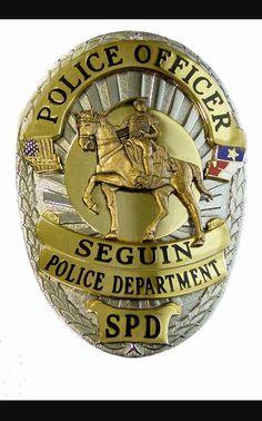 Seguin Texas Police Badge