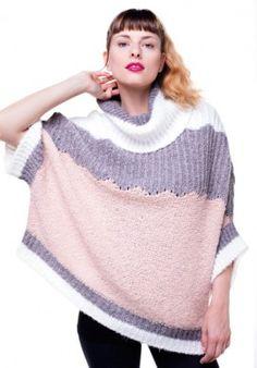 Poncho - Yarn gauzed BUY IT NOW ON www.dezzy.it!