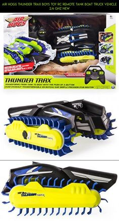 Air Hogs Thunder Trax Boys Toy RC Remote Tank Boat Truck Vehicle 2.4 GHZ NEW #kit #racing #boat #tech #air #gadgets #shopping #fpv #camera #parts #drone #plans #products #technology #hogs