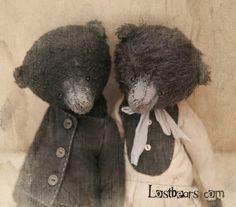 Авторские коллекционые мишки Лены Смага. Забытые мишки. Lost bears