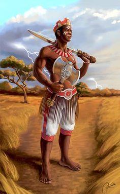 Shango, Orisha of lightning and justice. By David Zerca (Cuba). Oya Orisha, Shango Orisha, African American Art, African Art, Orishas Yoruba, Ying Y Yang, African Mythology, Yoruba Religion, Black Art Pictures