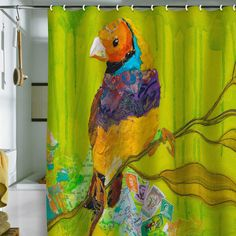 Want your shower curtain to make a statement? This website is amazing for statement pieces. The hardest part will be choosing one.