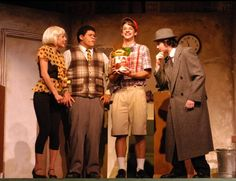 Little Shop of Horrors - Audrey's Costume is cute in this one