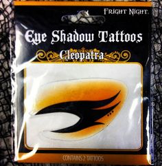 Eye Shadow Tattoos! So awesome! Just $2.95 this Holloween season! Call 509-326-7100 or email sales@doctoredlocks.com to place an order!