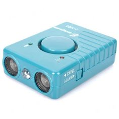 Multi-function Ultrasonic Dog Repeller + SOS Alarm + Torch Combo - Blue