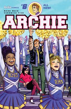 *High Grade* (W) Mark Waid (A) Veronica Fish & Various (CA) Veronica Fish Archie and Jughead are on the outs with each other, and now Archie has no one to help him against the fury that is Hiram Lodge
