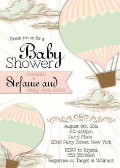 Hey, I Found This Really Awesome Etsy Listing At Https://www. Custom Baby  Shower InvitationsPrintable ...