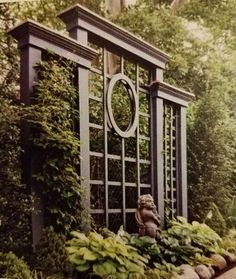 Garden arbor Patio trellis Garden gates Garden spaces Garden trellis Garden Adding Beauty to Your Garden With an Arbor - Arbor - Ideas of Arbor Patio Trellis, Arbors Trellis, Trellis Ideas, Lattice Patio, Privacy Trellis, Cedar Trellis, Obelisk Trellis, Flower Trellis, Obelisks