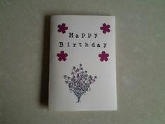 Birthdaycard selfmade