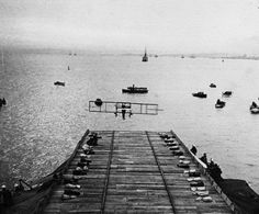 First Aircraft Carrier  #ExperimentsInMotion