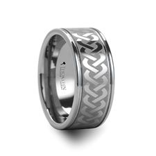 PALLAS Celtic Knot Laser Engraved Tungsten Wedding Ring, 10mm $169.99  **Follow up... Got it for Christmas as a replacement to my original wedding band.  Totally love it, the best decision I ever made was asking for this ring!**