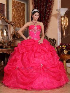 designer-quinceanera-dress - pink