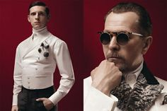 Prada Fall/​Winter 2012 Campaign Starring Gary Oldman, Garrett Hedlund, Jamie Bell and Willem Dafoe