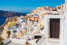 Streets of Santorini | Kevin & Amanda | Food & Travel Blog