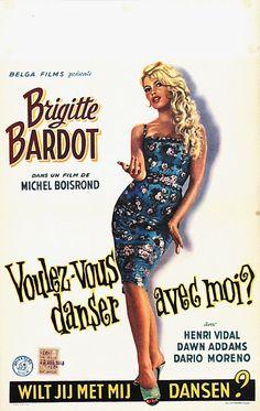 Brigitte Bardot in Voulez-vous danser avec moi, 1960.