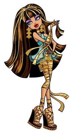 cleo de nile   Image - Profile art - Cleo de Nile hair.jpg - Monster High Wiki
