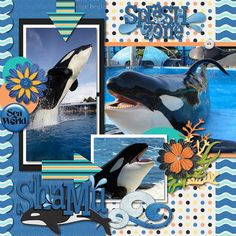 Credits: Kellybell's Undersea Voyage kit and Wordart