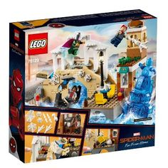 Take a trip to Venice with Peter Parker and MJ with this Hydro-Man Attack LEGO play set inspired by Spider-Man: Far from Home. Enjoy a gondola boat ride, but watch out - here comes Hydro-Man making huge waves in the canal. Shop Lego, Buy Lego, Spiderman Lego, Superhero, Amazing Spiderman, Marvel Universe, Legos, Iron Man, Tattoo Trend