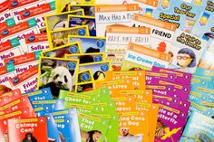 A post about easy leveled readers for beginning and emergent readers. The Best Leveled Books from Scholastic Reading Club - Kinder Craze