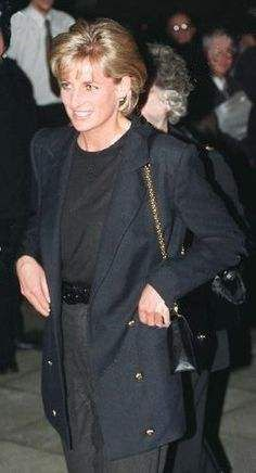 March 10, 1997: Diana, Princess of Wales in her role as patron visits Centrepoint to see The Cold Weather Project for homeless young people in Kings Cross.