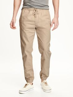 Twill Joggers for Men | Old Navy