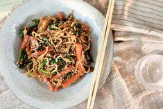 Kinesisk wok med herlig saus