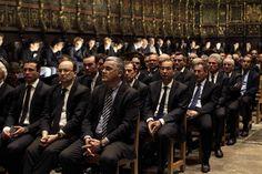 El mundo del fútbol acudió en masa al funeral de Tito Vilanova