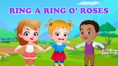 Watch out what all fun Baby Hazel and her friends are having while playing and dancing to the tune of a popular singing game, Ring A Ring O Roses.