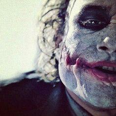 Heath Ledger's Joker - The Dark Knight Joker Dark Knight, The Dark Knight Trilogy, Joker Dc, Joker And Harley Quinn, Gotham City, Les Oscars, Joker Images, Heath Ledger Joker, Joker Wallpapers