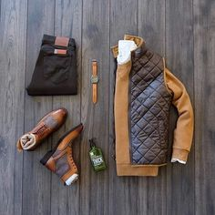 Mens Casual Dress Outfits, Stylish Mens Outfits, Fashion Outfits, Men Fashion Show, Mens Fashion, Estilo Cool, Style Masculin, Herren Style, Outfit Grid