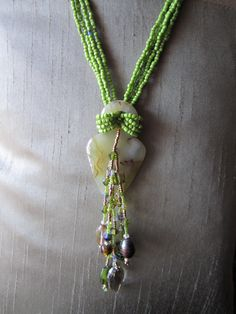 My Green Maiden necklace...need to find more Maidens.