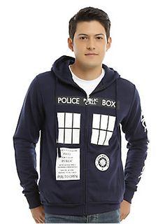 *WHO* needs a new hoodie? // Doctor Who Tardis Hoodie