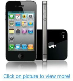 IPHONE 4 16GB (A1332) - GSM Factory Unlocked - No Warranty (Black) #IPHONE #16GB #A1332 #GSM #Factory #Unlocked #Warranty #Black