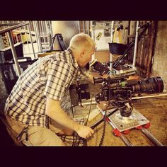 """Sony PMW-F3 in action. On location at Busch Gardens, Tampa with @zacreative"" via @boomeralred"