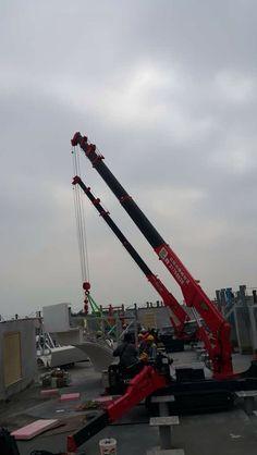 UNIC mini-crawler crane Crane Mobile, Crawler Crane, Heavy Equipment, Golden Gate Bridge, Spider, Commercial, Mini, Outdoor Decor, Spiders