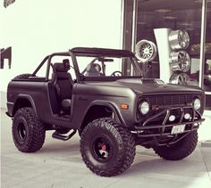 I want a buckin' Bronco, or a Super Scout. I'd be happy with either!