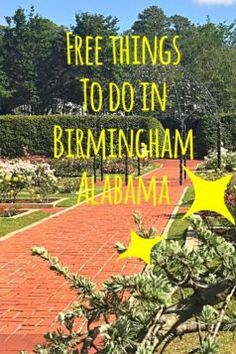 Free Things to do in Birmingham - Fabulousindeed Vacation Destinations, Vacation Trips, Day Trips, Vacations, Alabama Vacation, Vacation Ideas, The Places Youll Go, Places To See, Hoover Alabama