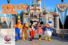 Vive unas vacaciones a lo grande!! Aproveche los precios especiales de temporada baja y viajea Estados Unidos y conozca el internacional y mágico mundo de Walt Disney World Orlando.