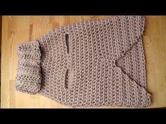 Tutorial Jersey Para Perro Crochet o Ganchillo - YouTube