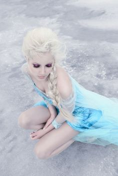 frozen by Sasha L on Frozen Cosplay, Elsa Cosplay, Windy Day, Snow Queen, Fairy Tales, Costumes, Disney Princess, Disney Characters, Lady