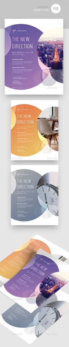 Creative Colorful #Corporate #Flyer - Corporate Flyers