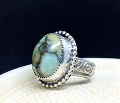 Wow!!  Seven dwarfs turquoise ring.