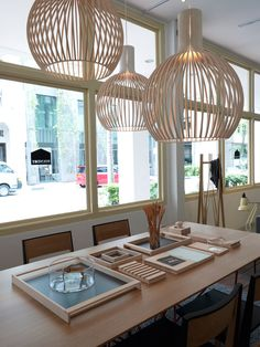 Shop stop: Foundry in Singapore Image by Marjon Hoogervorst-love those lamps